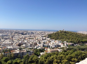 View from the Arcropolis