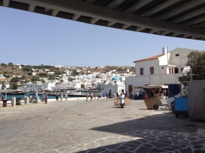 Another beautiful day in Mykonos!