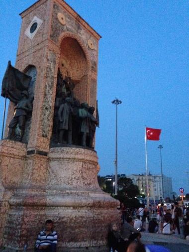 Monument near Taksim