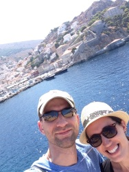 The town of Hydra
