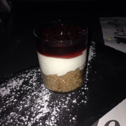 Sour cherry cheesecake! We are crazy 'bout these cherries!