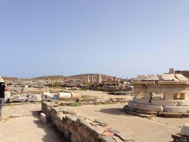 A view of Delos