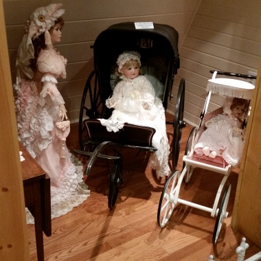 Dolls in the museum