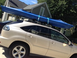 Kayak on suv