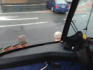 Tim and Dad pushing