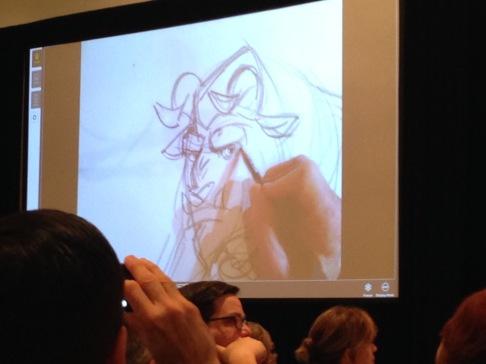 One keynote speaker, Mr. Keane, was the creator of the Beast!
