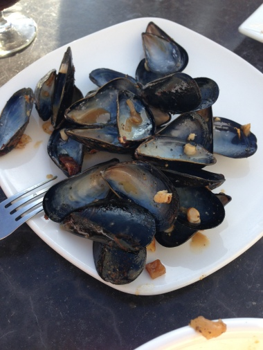 The ruins of delicious mussels!